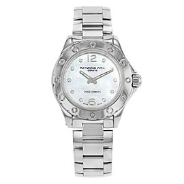 Raymond Weil RW Spirit Steel White MOP Dial Quartz Ladies Watch 3170-ST-05985