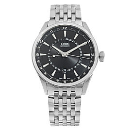 Oris Artix Pointer Moon Date Black Dial Mens Watch 01 761 7691 4054-07 8 21 80