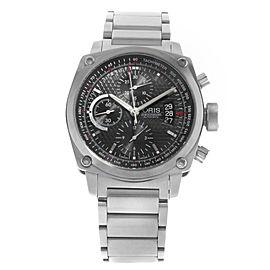 Oris BC4 Chronograph Black Steel Automatic Men Watch 01 674 7616 4154-07 8 22 58