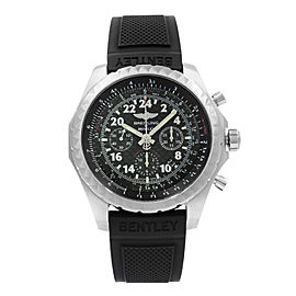 Breitling Bentley LTD Edition Steel Black Dial Mens Watch AB022022/BC8L-220S
