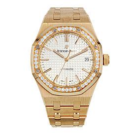 Audemars Piguet Royal Oak 15451or.zz.1256or.01 18K Rose Gold Automatic Watch