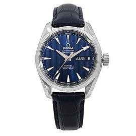 Omega Aqua Terra Blue Annual Calendar Steel Automatic Watch 231.13.39.22.03.001