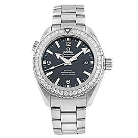 Omega Seamaster Planet Ocean Steel Diamond Mens Watch 232.15.46.21.01.001
