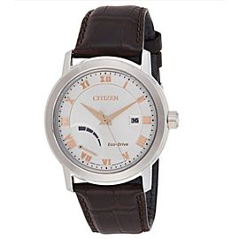 Citizen Eco-Drive Steel Silver Dial Solar Mens Watch AW7020-00A