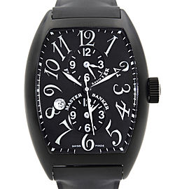 Franck Muller Master Banker PVD Steel Black Dial MenS Watch 9880-MB-SC-DT-NR