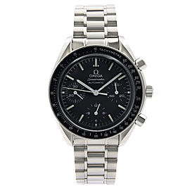 Omega Speedmaster Steel Reduced 39mm Black Dial Automatic Watch 3539.50.00