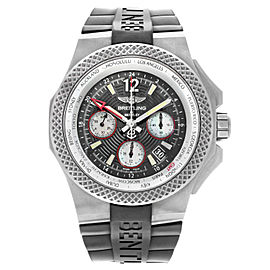 Breitling Bentley GMT Automatic Black Dial Mens Titanium EB043335/BD78-232S