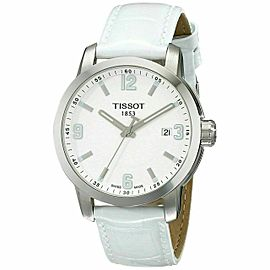Tissot PRC 200 39mm Steel White Dial Quartz Unisex Watch T0554101601700