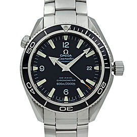 Omega Seamaster Planet Ocean Steel Black Dial Automatic Mens Watch 2201.50.00
