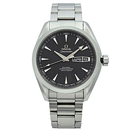 Omega Seamaster Aqua Terra Steel Grey Dial Mens Watch 231.10.43.22.06.001