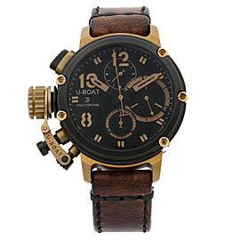 U-Boat Chimera 43mm B&B LTD Edition PVD Steel Bronze Black Dial Mens Watch 8015