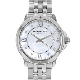Raymond Weil Tango Steel Diamond White MOP Dial Ladies Watch 5391-ST-00995