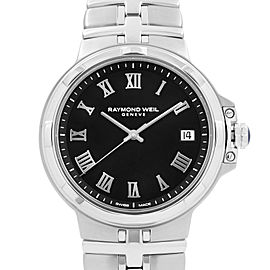 Raymond Weil Parsifal Stainless Steel Black Dial Quartz Mens Watch 5580-ST-00208