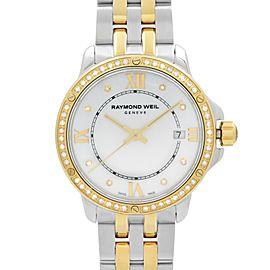 Raymond Weil Tango Steel Diamonds MOP Dial Quartz Ladies Watch 5391-SPS-00995