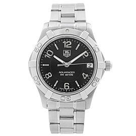TAG Heuer Aquaracer Steel Black Dial Quartz Diver Ladies Watch WAF1310.BA0817