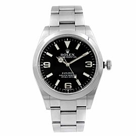 Rolex Explorer I 39mm Steel Black Dial Automatic Mens Watch 214270
