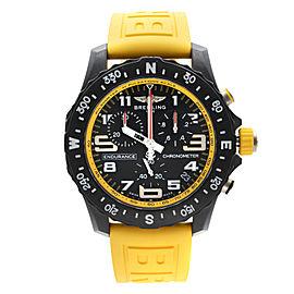 Breitling Endurance Pro Breitlight Black Dial Quartz Mens Watch X82310A41B1S1