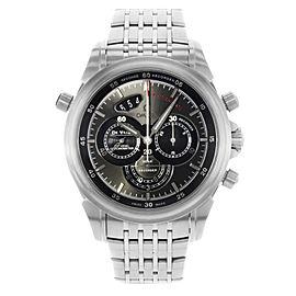 Omega DeVille Rattrapante 44mm Steel Black Dial Mens Watch 422.10.44.51.06.001