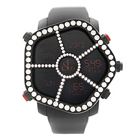 Jacob & Co. Ghost PVD Steel Diamond Bezel Mens Watch GH100.11.RP.PB.AHA4D