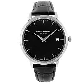 Raymond Weil Toccata Stainless Steel Black Dial Quartz Mens Watch 5588-STC-20001
