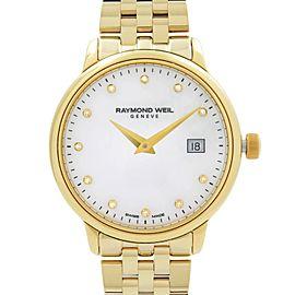 Raymond Weil Toccata Steel MOP Diamond Dial Quartz Ladies Watch 5988-P-97081