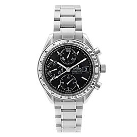 Omega Speedmaster Steel Chronograph Black Dial Automatic Mens Watch 3513.50.00