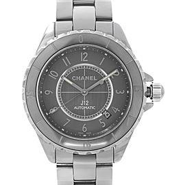 Chanel J12 Chromatic Ceramic Titanium Grey Dial Automatic Unisex Watch H2934