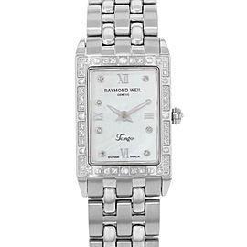 Raymond Weil Tango Stainless Steel MOP Diamonds Dial Ladies Watch 5971-STS-00995
