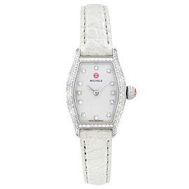Michele Urban Coquette Diamond Bezel White MOP Dial Ladies Watch MWW08A000223