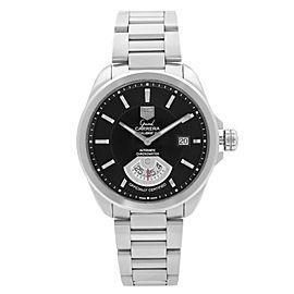 TAG Heuer Grand Carrera Steel Black Dial Automatic Men's Watch WAV511A.BA0900
