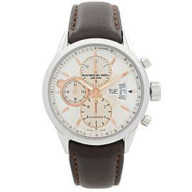 Raymond Weil Freelancer Steel Silver Dial Automatic Mens Watch 7730-STC-65025