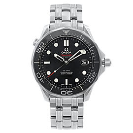 Omega Seamaster Diver 300M Steel Black Dial Automatic Watch 212.30.41.20.01.003