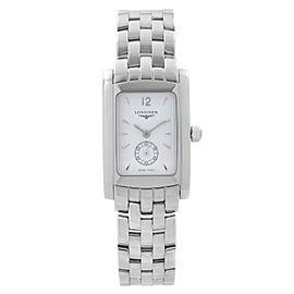 Longines DolceVita Stainless Steel White Dial Quartz Ladies Watch L5.155.4.16.6