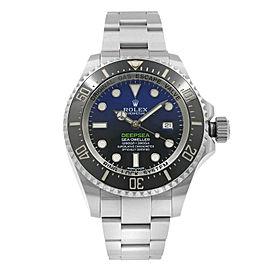 Rolex Deepsea Sea Dweller James Cameron Steel Blue Black Dial Mens Watch 116660