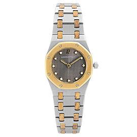 Audemars Piguet Royal Oak 25mm 18K Rose Gold Steel Quartz Ladies Watch SA 66270