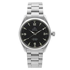 Omega Railmaster Chronometer 38mm Steel Black Dial Automatic Watch 2803.52.37