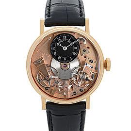 Breguet Tradition 18k Rose Gold Skeleton Dial Manual Wind Watch 7027BR/R9/9V6