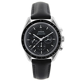 Omega Speedmaster Moon Watch Steel Black Dial Mens Watch 310.32.42.50.01.002