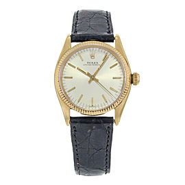 Rolex Oyster Perpetual 6551 31mm Womens Vintage Watch