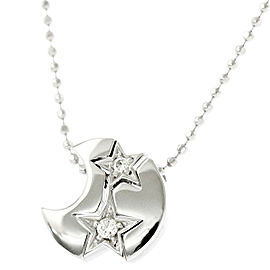 Star Jewelry 18K white gold Diamond Necklace