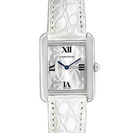 Cartier Tank Solo Limited Eddition Ladies Steel Watch W1019555