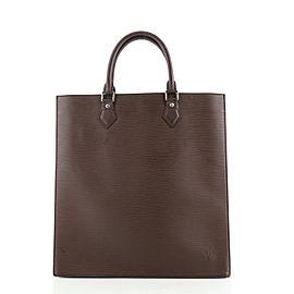 Louis Vuitton Sac Plat Handbag Epi Leather GM