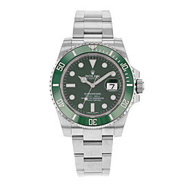 Rolex Submariner 116610LV Hulk 40mm Mens Watch