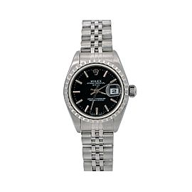 Rolex Oyster Perpetual Lady Date 69240 26mm Womens Watch