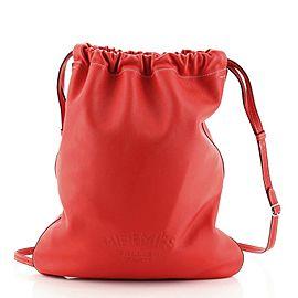 Hermes Bridado Backpack Cheri Calfskin