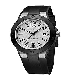 Bulgari Diagono Magnesium Automatic Date Mens Watch DG41C6SMCVD