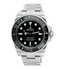Rolex Black Dial Submariner 114060 Watch