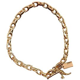 COACH Gold Plated Ble Rubbed T gold Bracelet