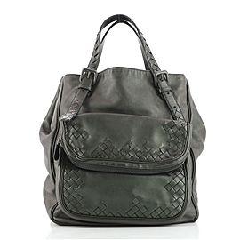 Bottega Veneta Scarabee Multi Pocket Tote Leather with Intrecciato Detail