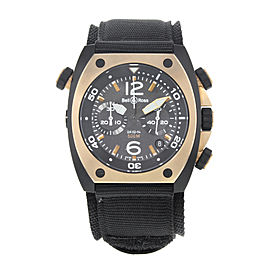Bell & Ross Marine BR02-CHR-BICOLO 44mm Mens Watch
